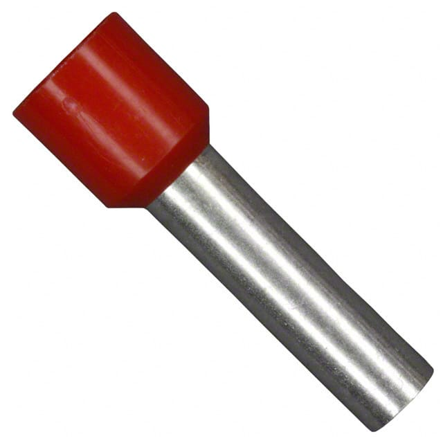【11181100】CONN FERRULE DIN 8AWG RED