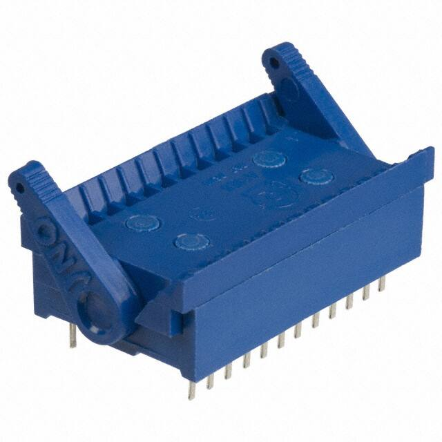 【24-516-10】CONN IC DIP SOCKET ZIF 24POS TIN