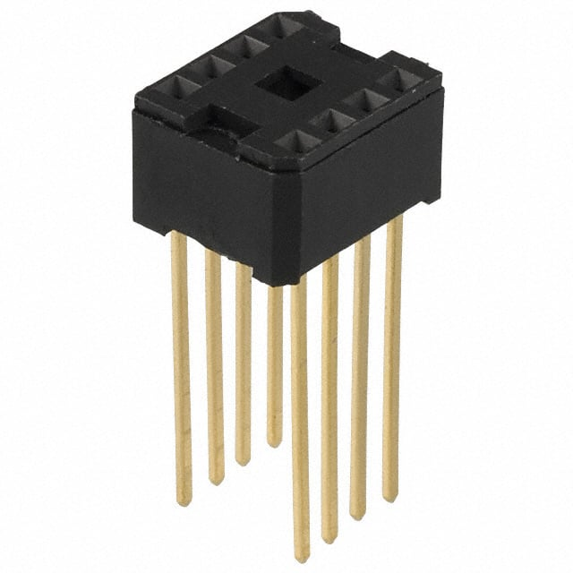 【C9108-00】CONN IC DIP SOCKET 8POS GOLD