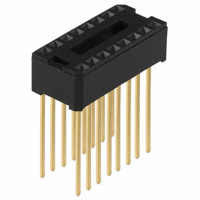 【C9116-00】CONN IC DIP SOCKET 16POS GOLD