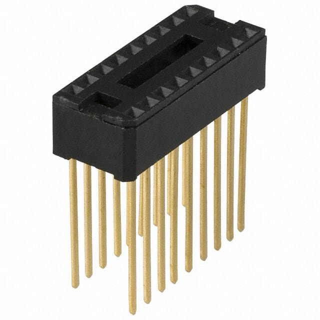 【C9118-00】CONN IC DIP SOCKET 18POS GOLD