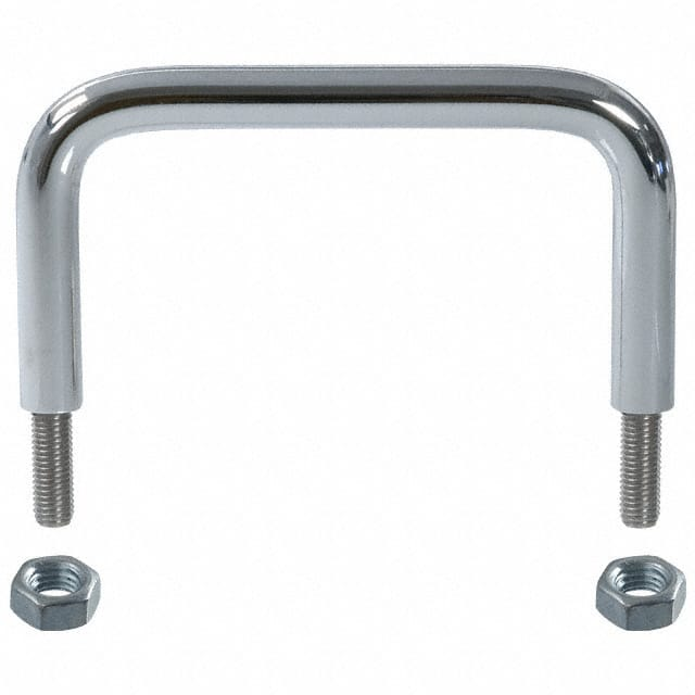 【H-9160-B】HANDLE CHROME MOUNTNG CENTR 3.5""""
