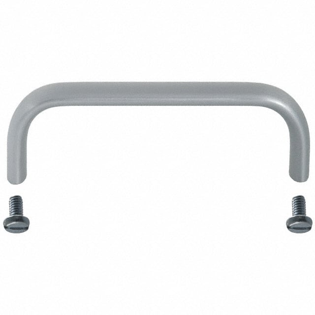 【H-9174-B】HANDLE ANOD-ALUM MOUNTNG CNTR 4""""