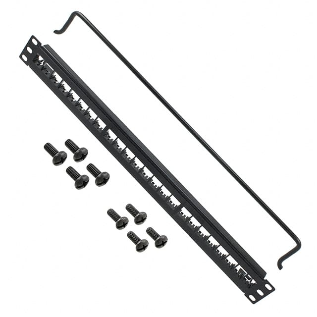 FLEX PATCH PANEL 24-P 1U BLK【AX101456】