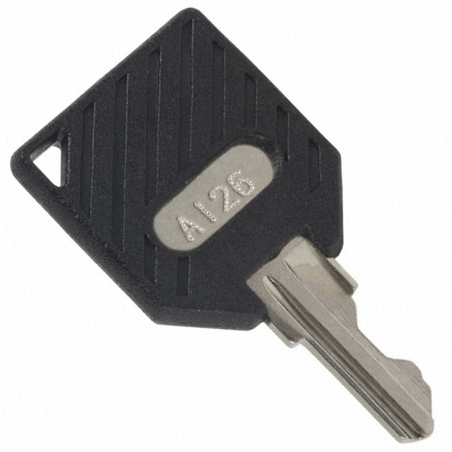 【11599112602】KEY REPLACEMENT A126 CODE BLACK