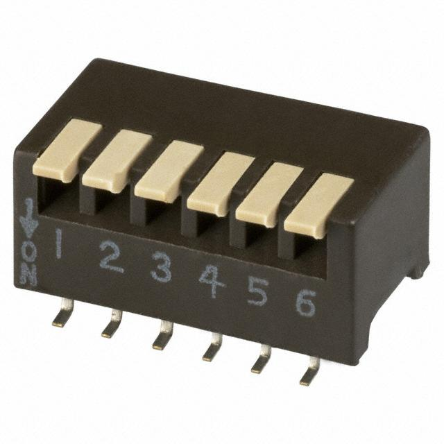 【193-6MS】SWITCH PIANO DIP SPST 50MA 24V