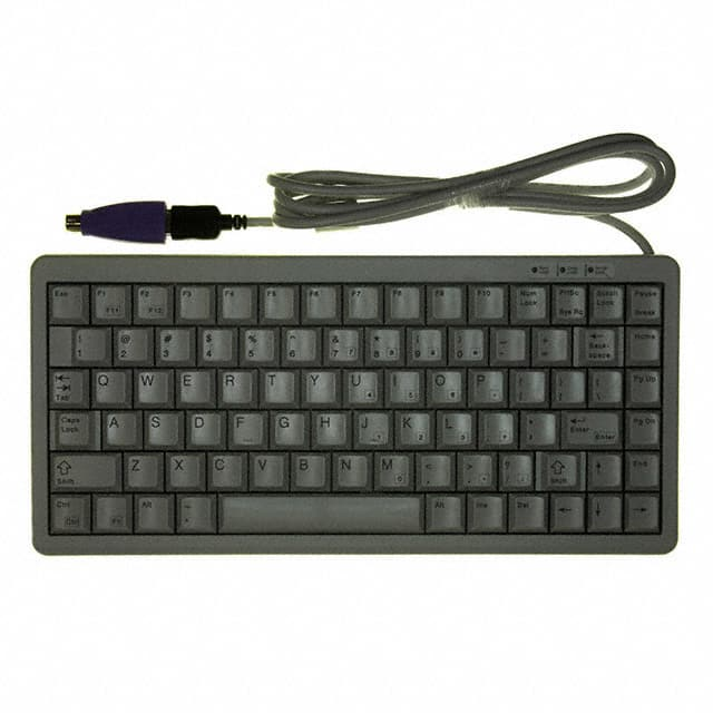 【G84-4100LCAUS-0】KEYBOARD NOTEBOOK 83KEY USB GRY
