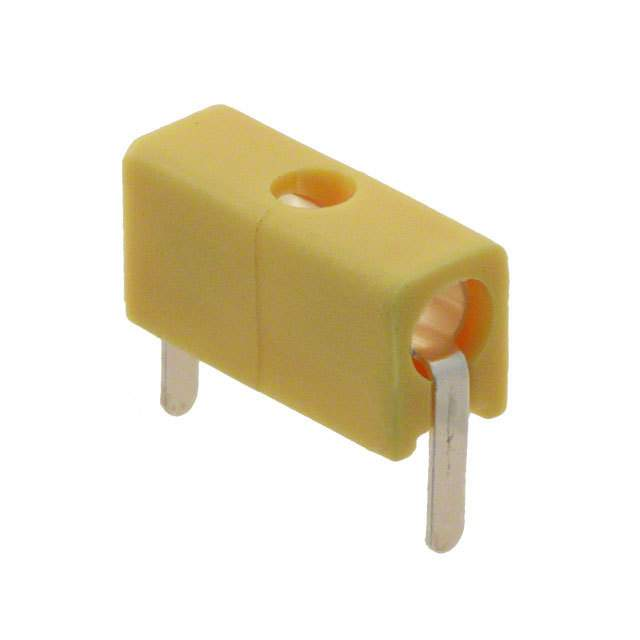 CONN TIP JACK SOLDER YELLOW【105-0757-001】
