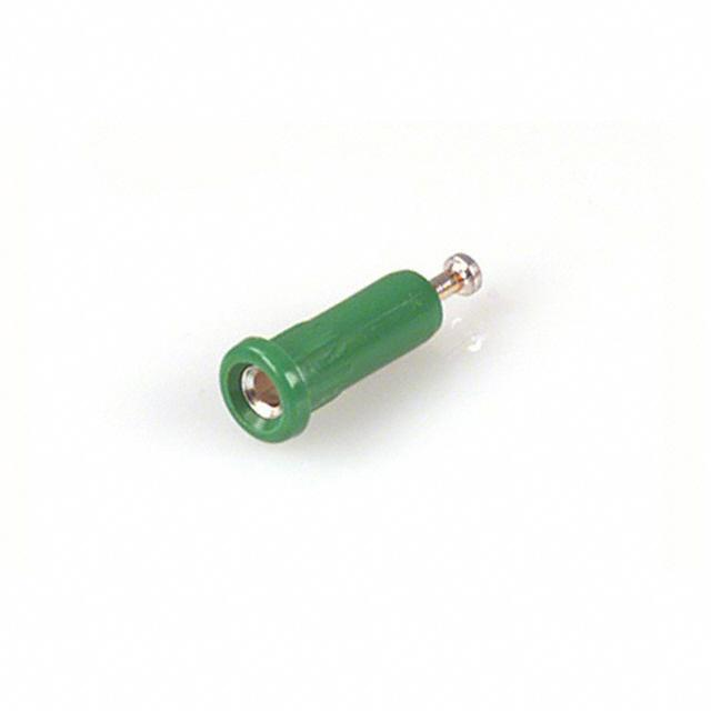 【105-1044-001】CONN TIP JACK TURRET GREEN