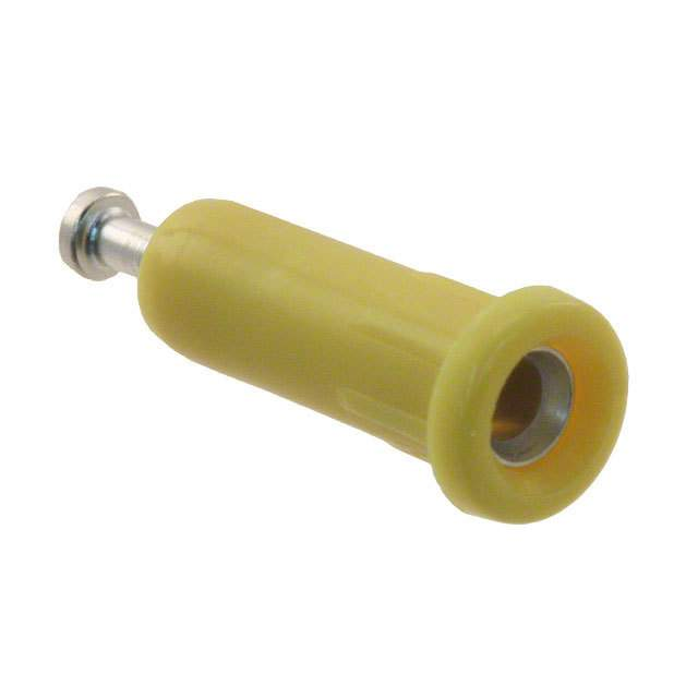 【105-1047-001】CONN TIP JACK TURRET YELLOW