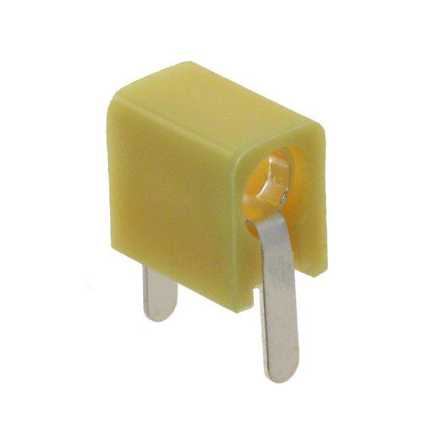 【105-1107-001】CONN TIP JACK SOLDER YELLOW