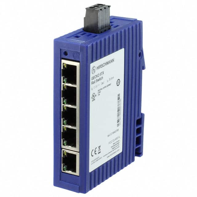【GECKO 5TX】NETWORK SWITCH-MANAGED 5 PORT