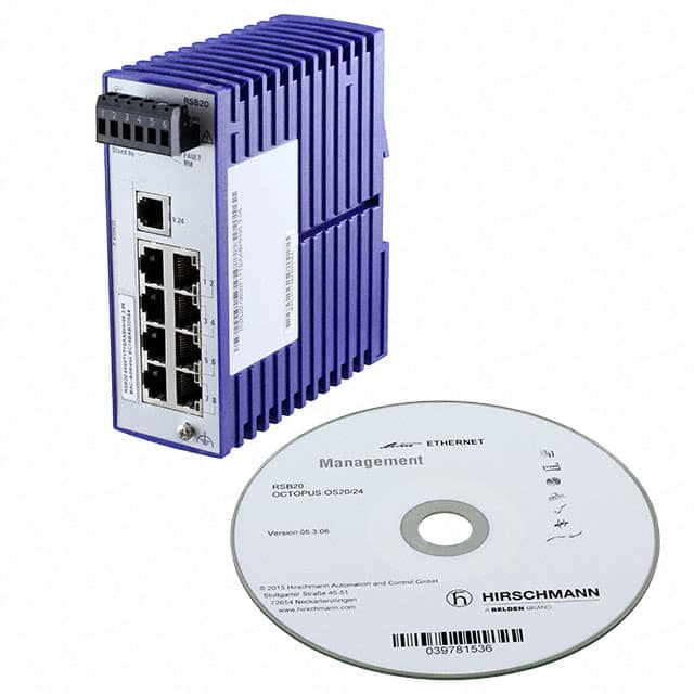 【RSB20-0800T1T1SAABHH】NETWORK SWITCH-MANAGED 8 PORT