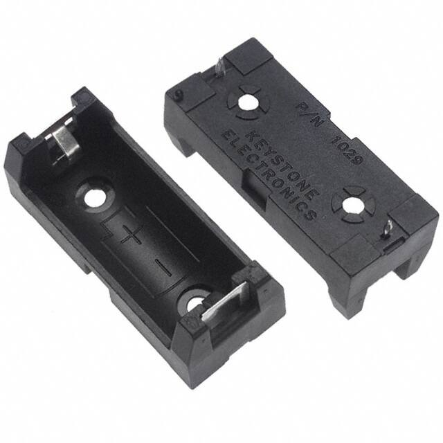 【1029】BATTERY HOLDER 2/3 A PC PIN