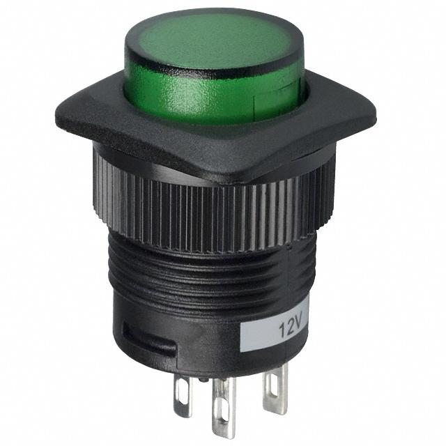【CLS-PC11A125S01G】SWITCH PUSHBUTTON SPST 3A 125V