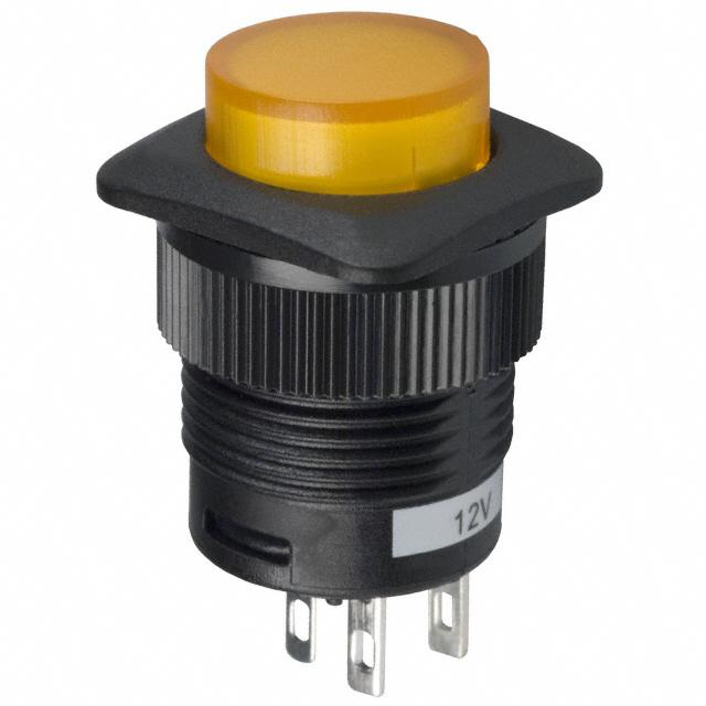 【CLS-PC11A125S01Y】SWITCH PUSHBUTTON SPST 3A 125V