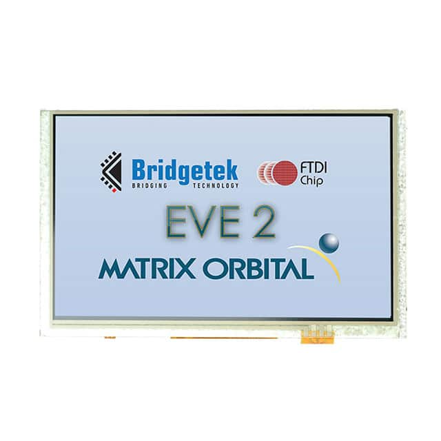 "【EVE2-50A-BLM-TPN】DISPLAY LCD TFT 5"""" EVE"