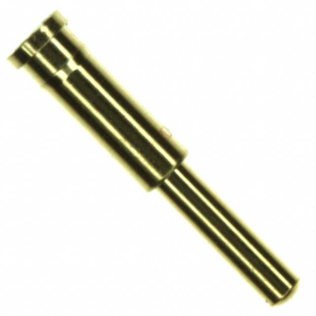 【0907-6-15-20-75-14-11-0】CONN PIN SPRING-LOAD .370 20GOLD
