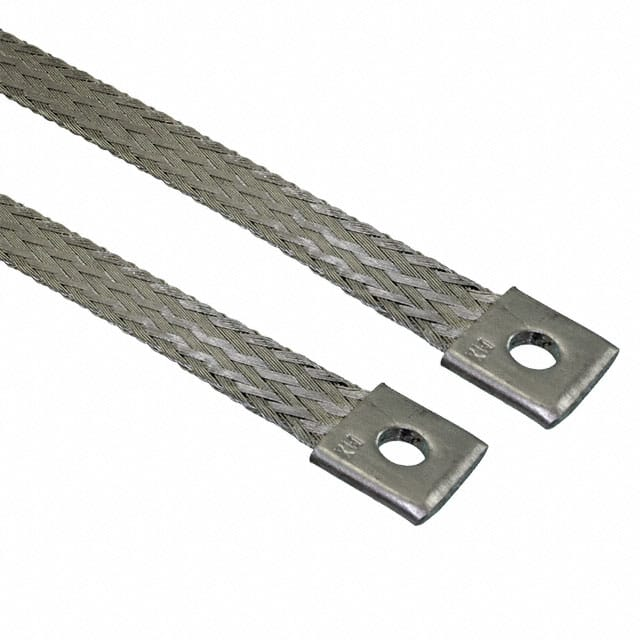 "【2076025004】GROUND BRAID FLAT 0.540"""" X 2'"