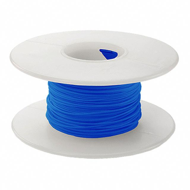 【KSW26B-0100】WIRE WW 26AWG PVDF BLUE 100'