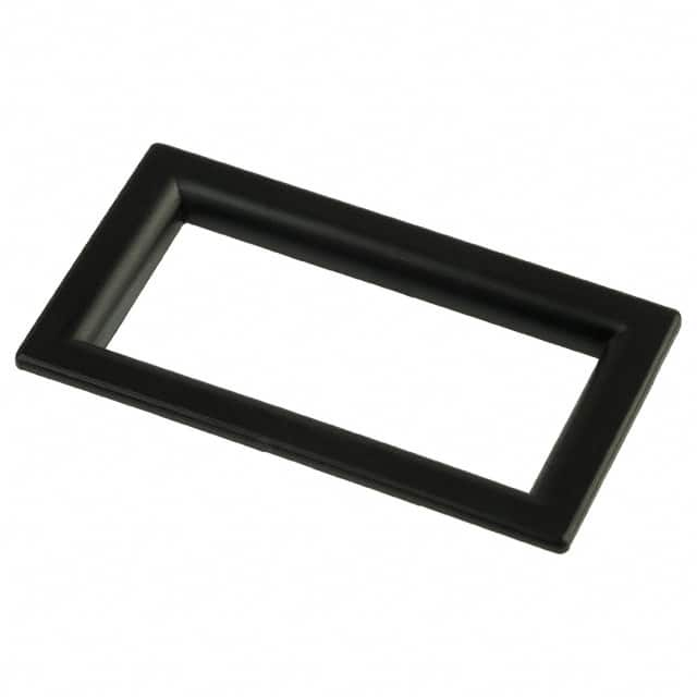 【6301010】LCD DISPLAY BEZEL BLK W/CLR LENS