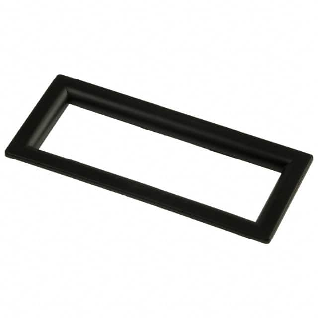 【6302010】LCD DISPLAY BEZEL BLK W/CLR LENS