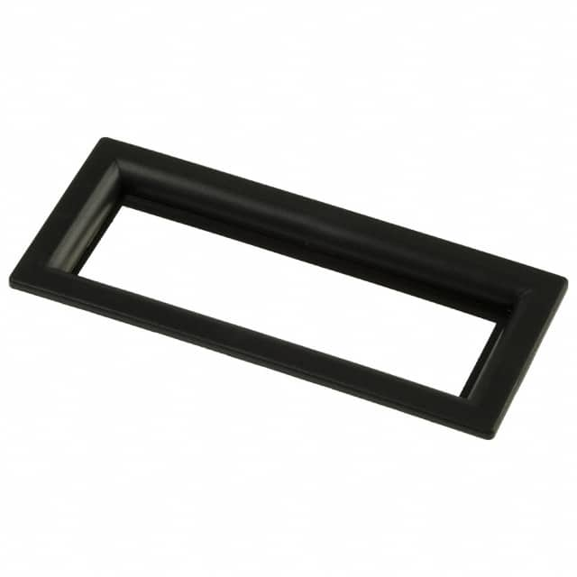 【6302020】LCD DISPLAY BEZEL BLK W/CLR LENS