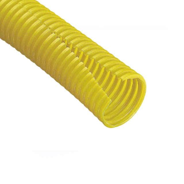 "【CLT100F-C4】SLIT WRAP 0.912"""" X 100' YELLOW"