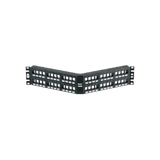 【NKPPA48FMY】PATCH PANEL 48 PORT 2 ROW ANGLED