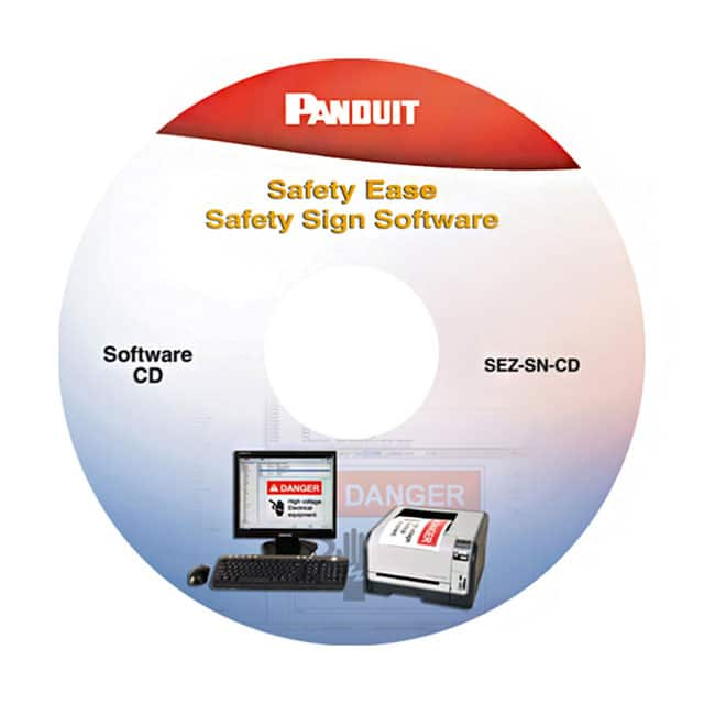 【SEZ-SN-CD】SAFETY EASE SIGN SOFTWARE CD-ROM