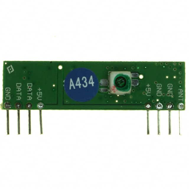 【QAM-RX2-433】RECEIVER REGEN AM SUPER 433MHZ