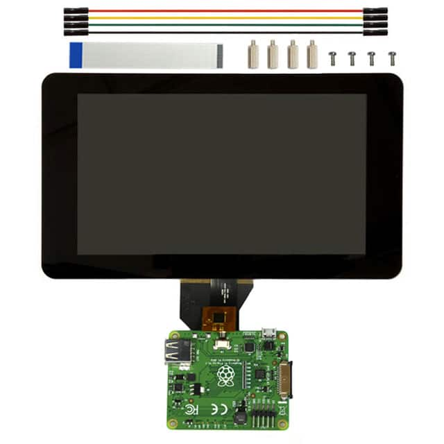 "RASPBERRY PI 7"""" TOUCH SCREEN LCD【8997466】"