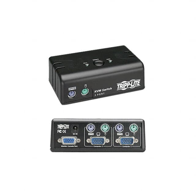 【B004-002-KT-R】SWITCH KVM PS/2-2PORT W/CABLEKIT