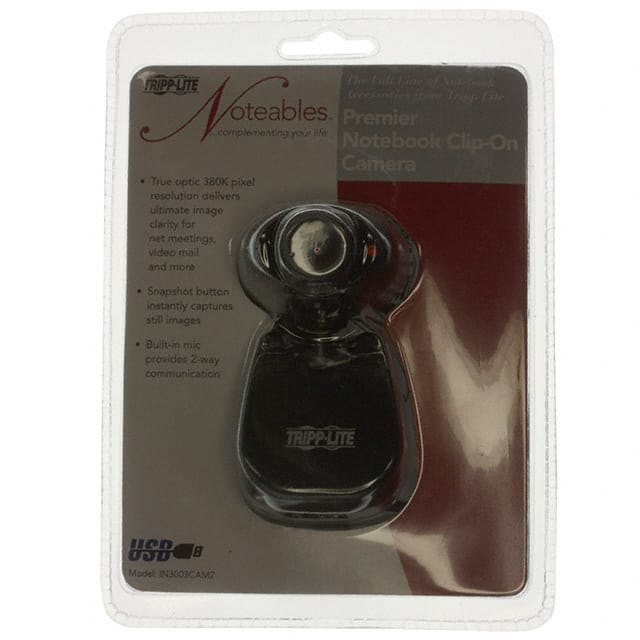【IN3003CAM2】CAMERA USB W/MIC CLIP-ON