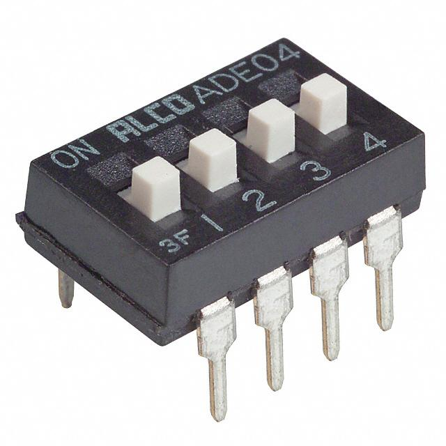 【1825057-3】SWITCH SLIDE DIP SPST 100MA 24V