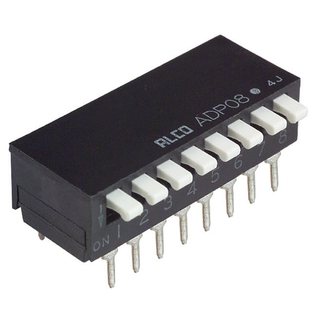 【2-1571999-6】SWITCH PIANO DIP SPST 100MA 24V