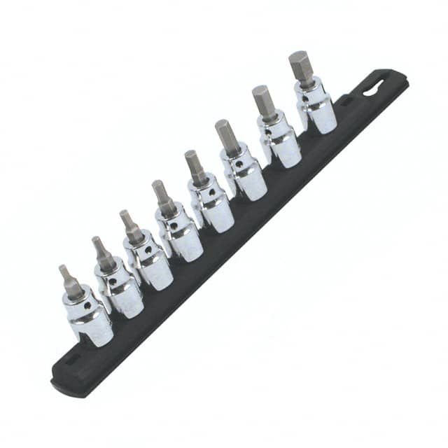 "【71392】SOCKET SET HEX 3/8"""" 8PC"