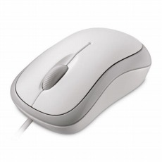 【P58-00070】Basic Optical Mouse white