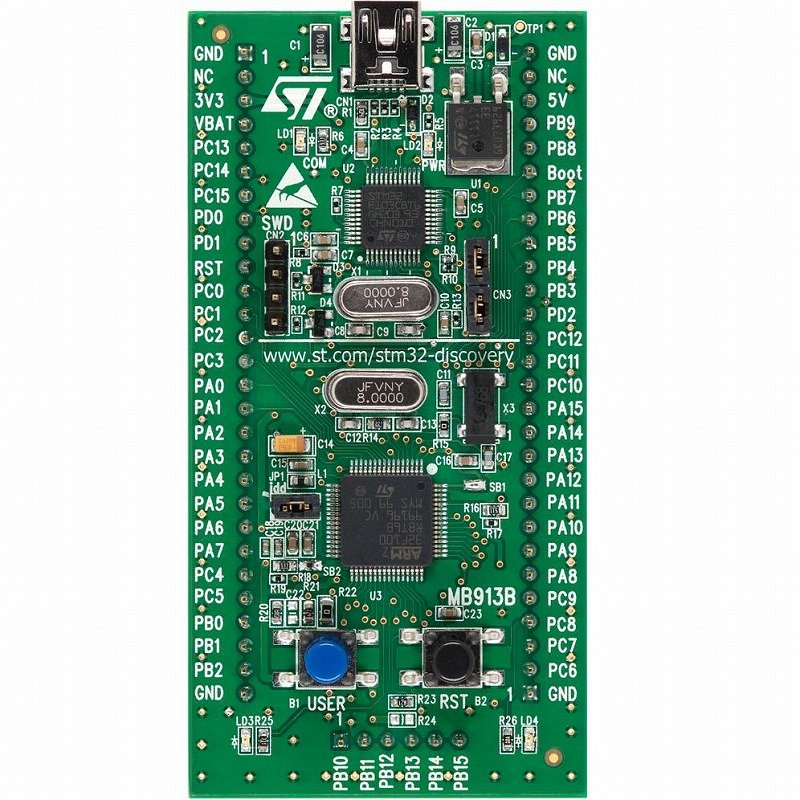 【STM32VL-DISCOVERY】ARMマイコンボード