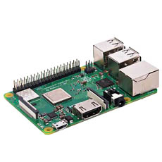 【RPI3-MODBP】Raspberry Pi 3 Model B+(ELEMENT14版)