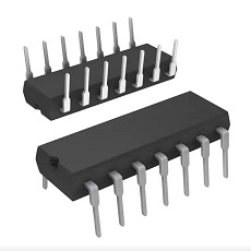 【74F132PC-N】IC GATE NAND 4CH 2-INP 14-DIP