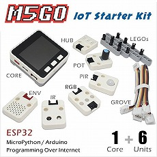 【M5STACK-M5GO】M5Stack M5GO IoT スターターキット