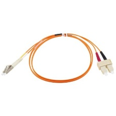【536-6995】LC-SC patchlead OM1 Duplex Orange 1m