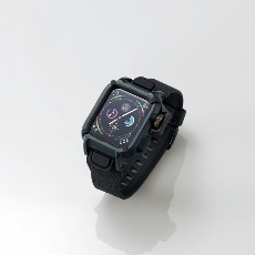 【AW-40BCNESTBK】Apple Watch用バンドケース(series 4/40mm)(黒)