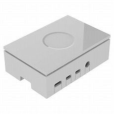 【ASM-1900136-11】Raspberry Pi 4 Model B用ケース(ホワイト)