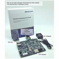 【RTK5572MNDS10000BE】Renesas Starter Kit+ for RX72M