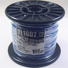 UL1007AWG24-100MR(BL)