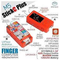 【M5STACK-K016-P】M5StickC Plus