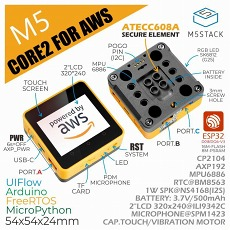 【M5STACK-K010-AWS】M5Stack Core2 for AWS ESP32 IoT開発キット