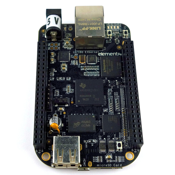【BB-BLACK-RC】BeagleBone Black Rev.C(element14版)